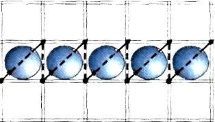 Рис.1 Вишивка бісером горизонтальними рядами. Вишиваємо перший ряд. Для  переходу до другого ряду зробіть стібок вниз по виворітного частини вишивки  і ... 978aa55c0ffc2