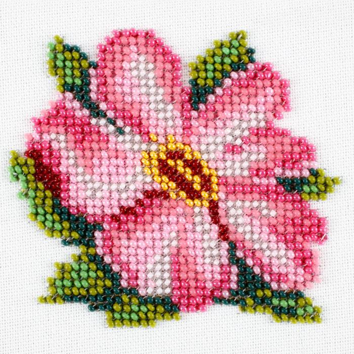 Картинки цветы вышивка бисером 64