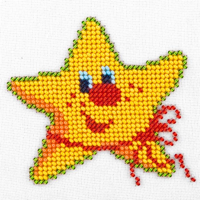 Вышивка крестом-звезды 30